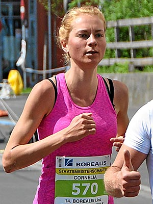 Conny Moser verbessert erneut den Marathon-Landesrekord